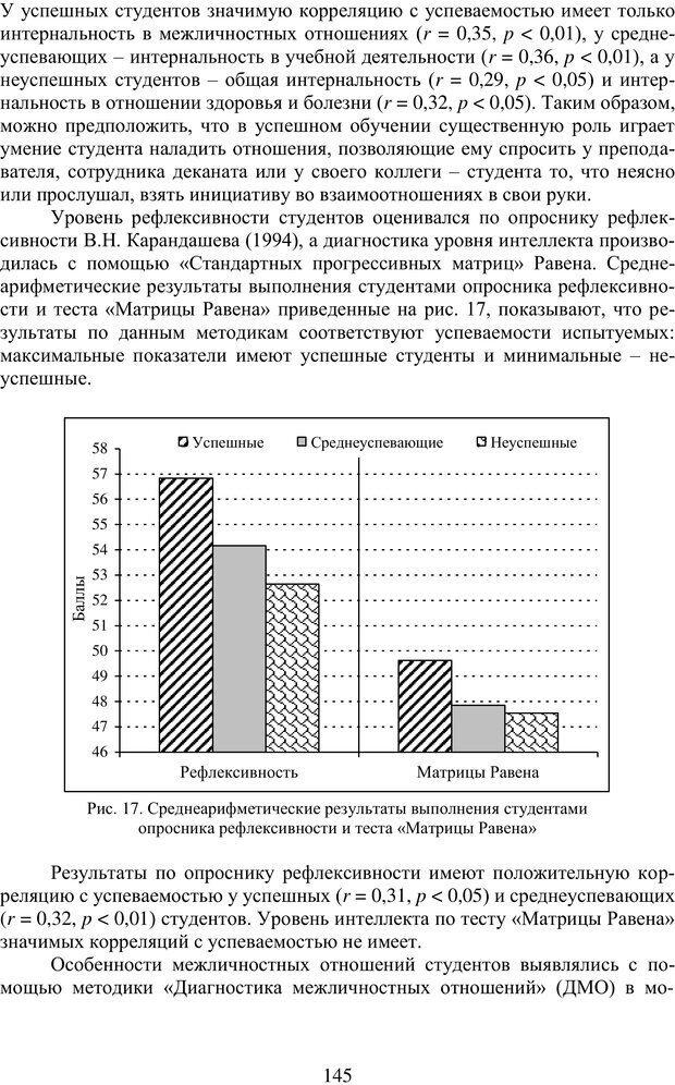PDF. Учебная деятельность студента: психологические факторы успешности. Ишков А. Д. Страница 147. Читать онлайн