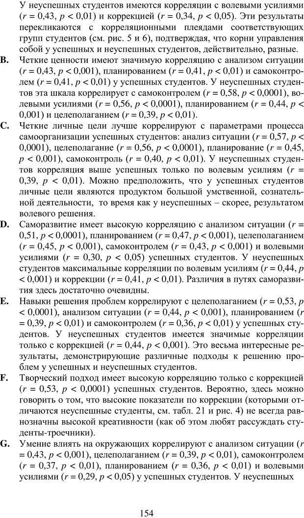 PDF. Учебная деятельность студента: психологические факторы успешности. Ишков А. Д. Страница 156. Читать онлайн
