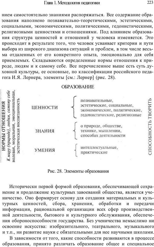 PDF. Психология и педагогика. Милорадова Н. Г. Страница 223. Читать онлайн
