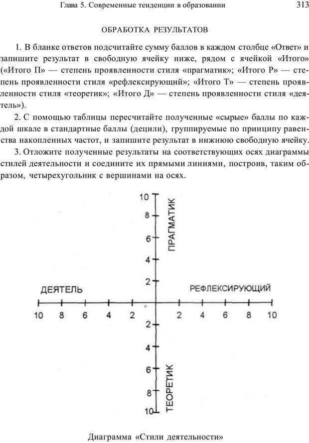 PDF. Психология и педагогика. Милорадова Н. Г. Страница 313. Читать онлайн