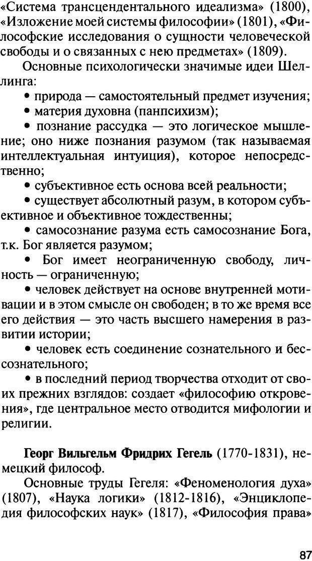 DJVU. История психологии. Абдурахманов Р. А. Страница 87. Читать онлайн