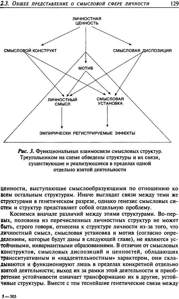 DJVU. Психология смысла. Леонтьев Д. А. Страница 129. Читать онлайн