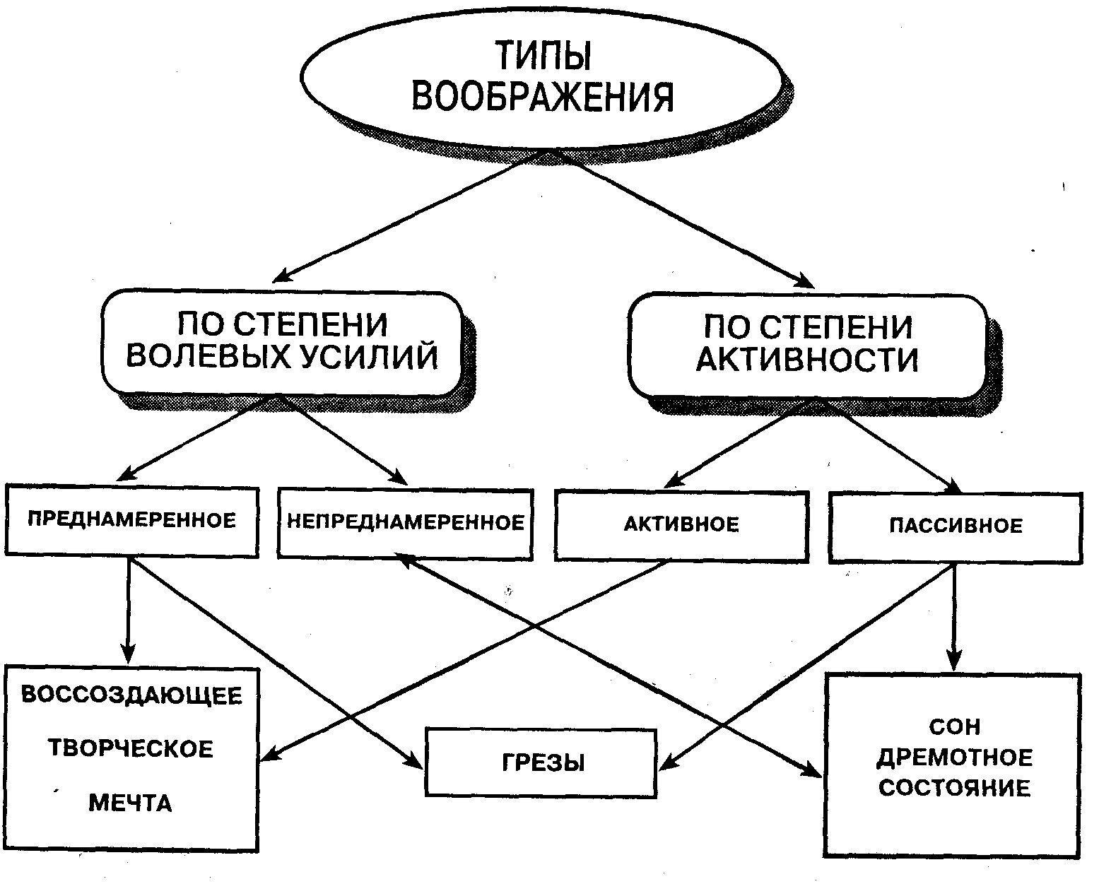 воображение в психологии по петровскому