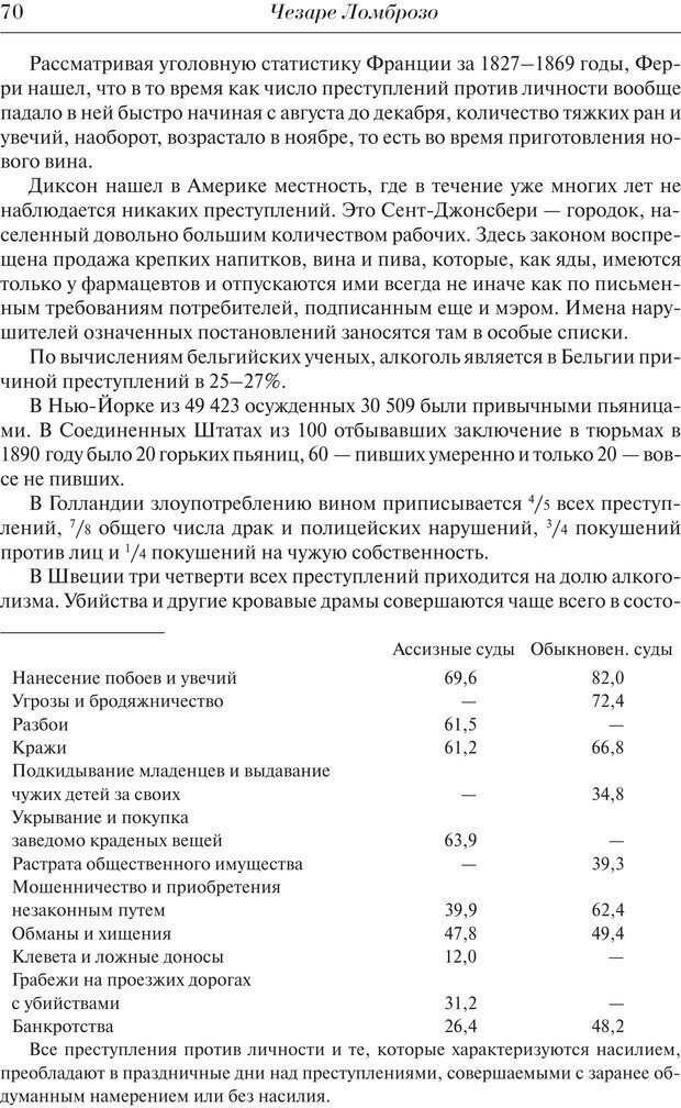 PDF. Преступный человек. Ломброзо Ч. Страница 66. Читать онлайн