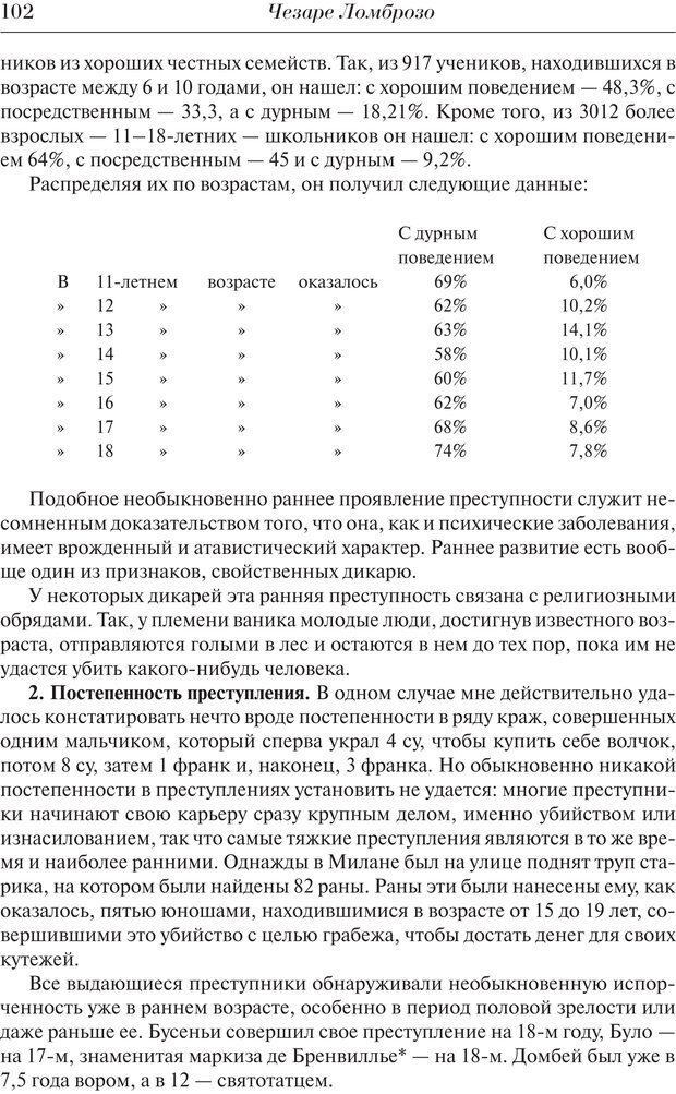 PDF. Преступный человек. Ломброзо Ч. Страница 98. Читать онлайн