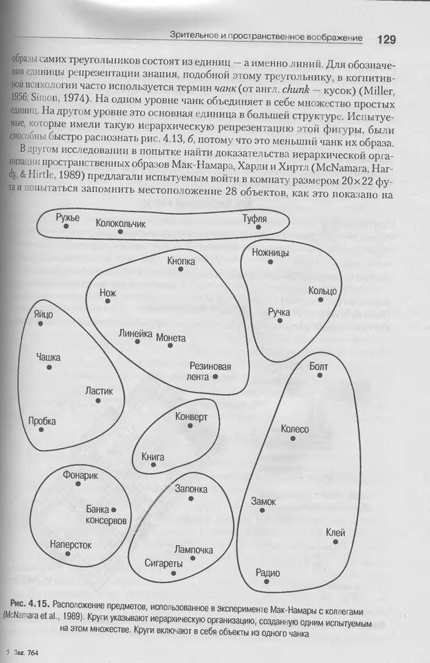 DJVU. Когнитивная психология [5-е издание]. Андерсон Д. Страница 126. Читать онлайн