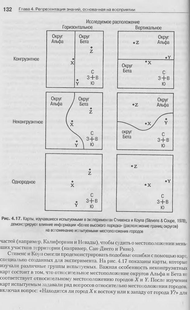 DJVU. Когнитивная психология [5-е издание]. Андерсон Д. Страница 129. Читать онлайн