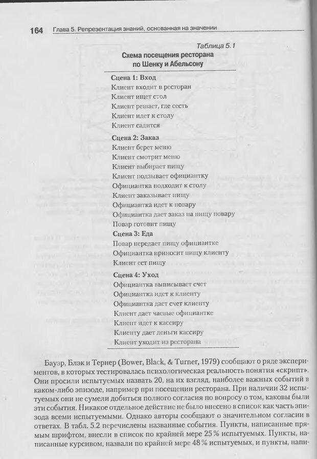 DJVU. Когнитивная психология [5-е издание]. Андерсон Д. Страница 161. Читать онлайн