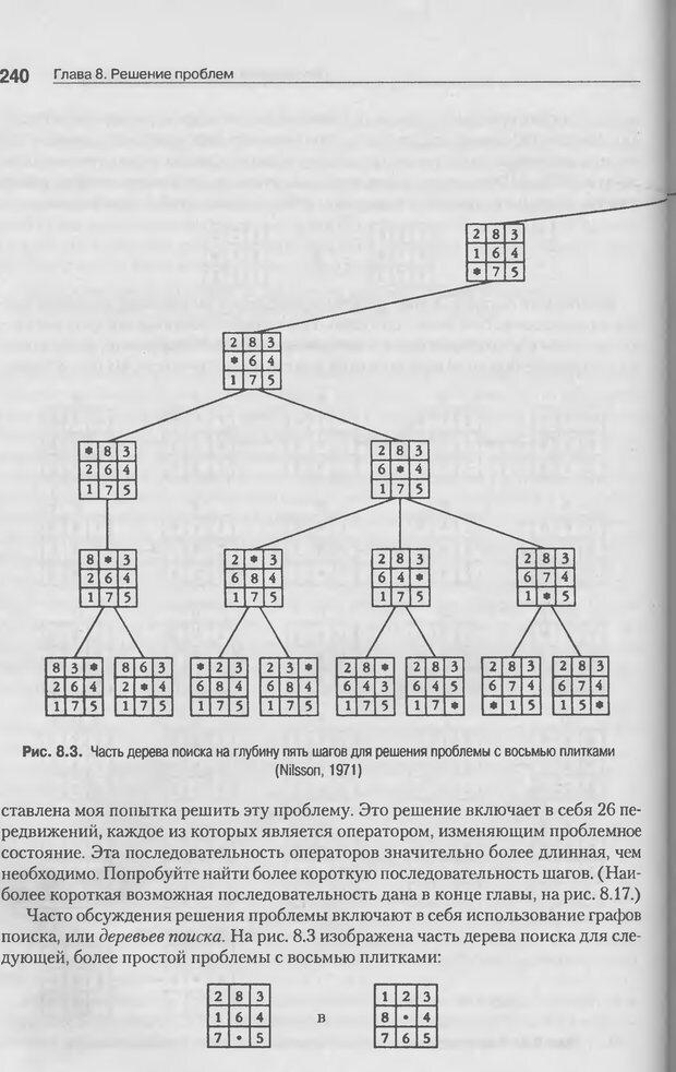 DJVU. Когнитивная психология [5-е издание]. Андерсон Д. Страница 237. Читать онлайн