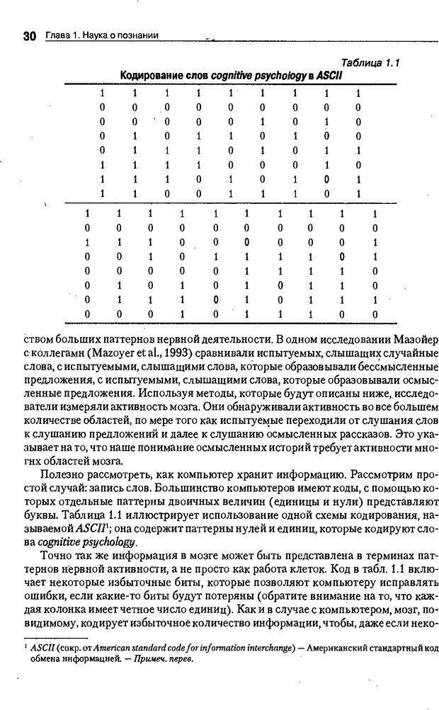 DJVU. Когнитивная психология [5-е издание]. Андерсон Д. Страница 27. Читать онлайн
