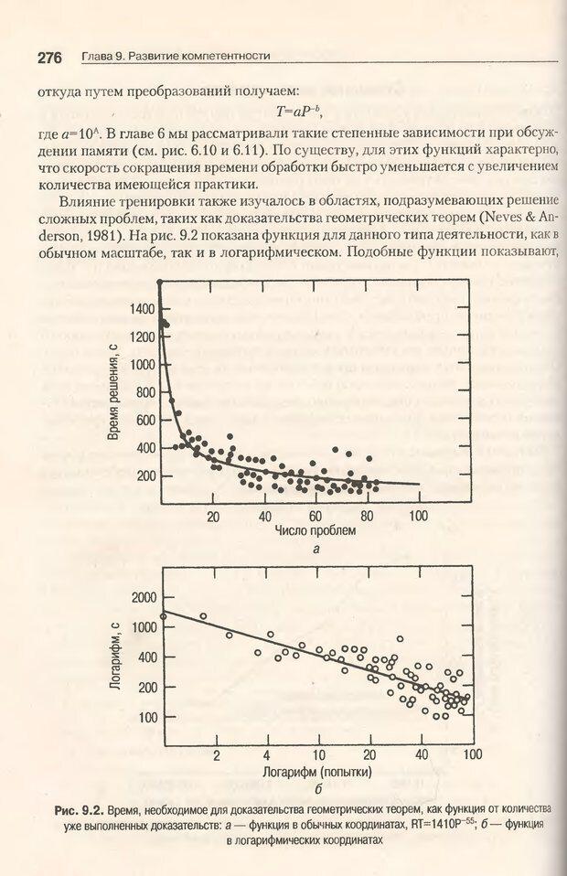 DJVU. Когнитивная психология [5-е издание]. Андерсон Д. Страница 273. Читать онлайн