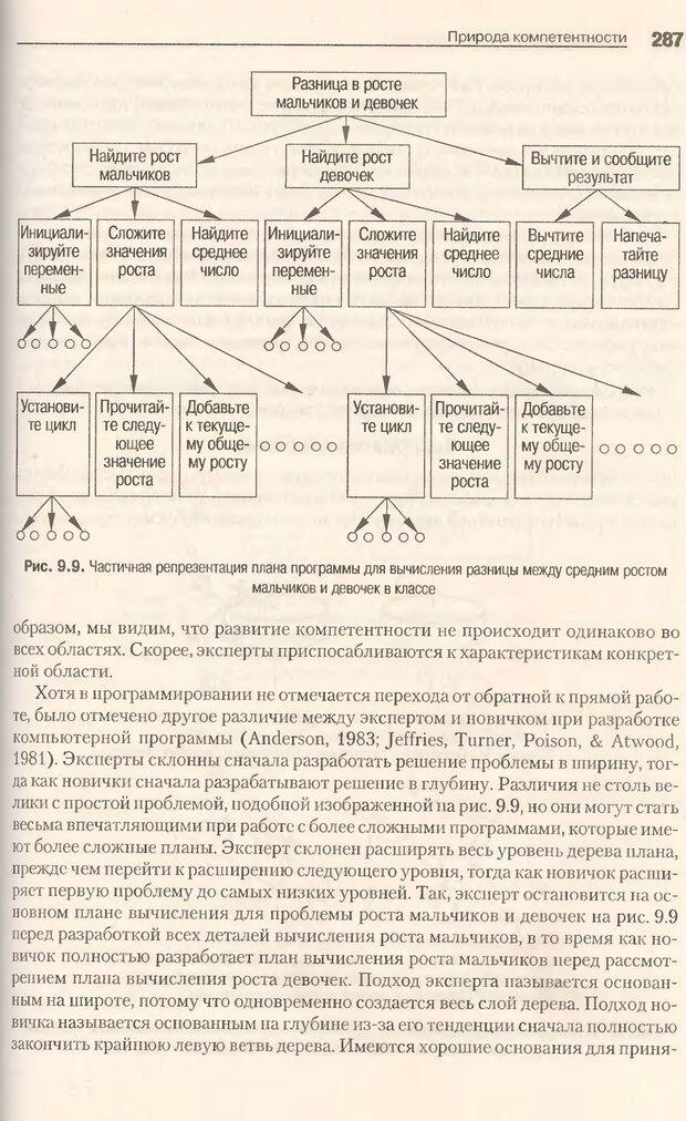 DJVU. Когнитивная психология [5-е издание]. Андерсон Д. Страница 284. Читать онлайн