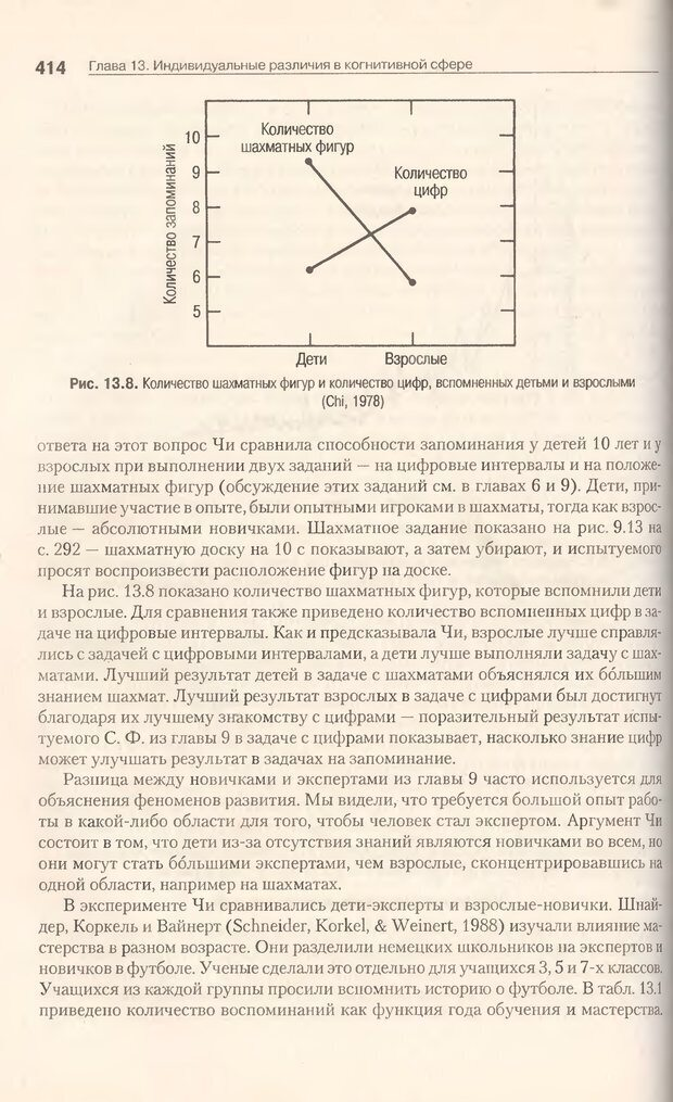 DJVU. Когнитивная психология [5-е издание]. Андерсон Д. Страница 411. Читать онлайн