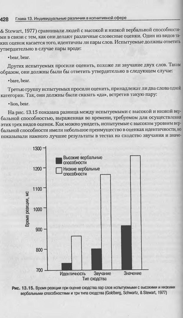 DJVU. Когнитивная психология [5-е издание]. Андерсон Д. Страница 425. Читать онлайн