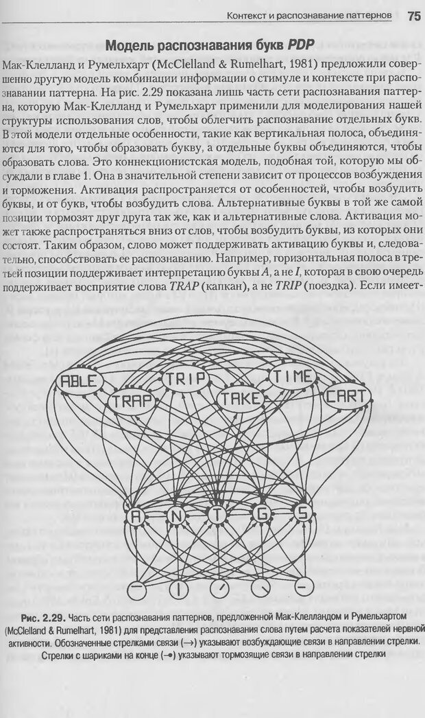 DJVU. Когнитивная психология [5-е издание]. Андерсон Д. Страница 72. Читать онлайн