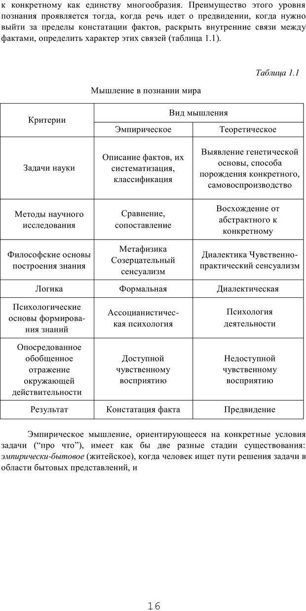 PDF. Мышление в дискуссиях и решениях задач. Милорадова Н. Г. Страница 16. Читать онлайн