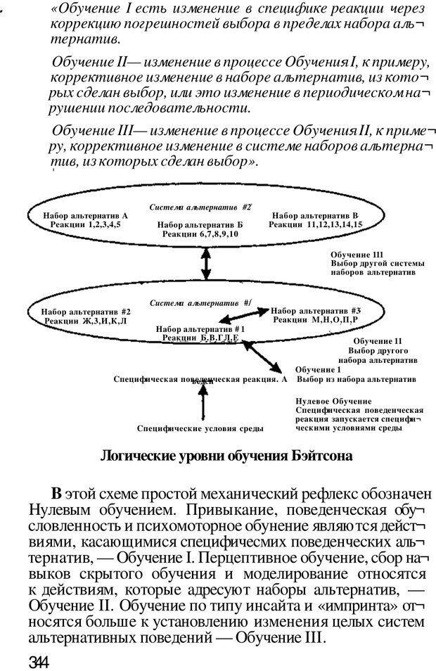 PDF. Динамическое обучение. Дилтс Р. Страница 343. Читать онлайн