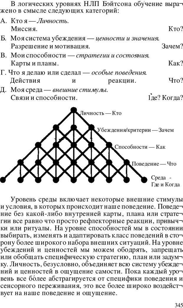 PDF. Динамическое обучение. Дилтс Р. Страница 344. Читать онлайн