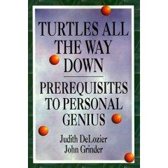 """Обложка книги """"Черепахи до самого низа. Предпосылки личной гениальности"""""""