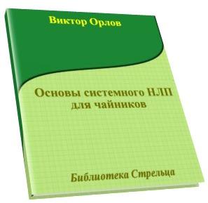 """Обложка книги """"Основы системного НЛП для чайников"""""""
