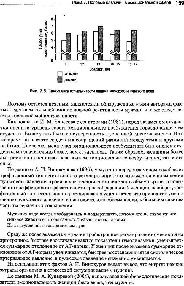 DJVU. Пол и гендер. Ильин Е. П. Страница 159. Читать онлайн