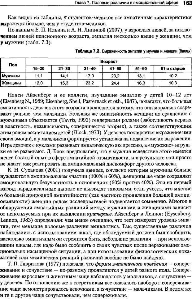 DJVU. Пол и гендер. Ильин Е. П. Страница 163. Читать онлайн