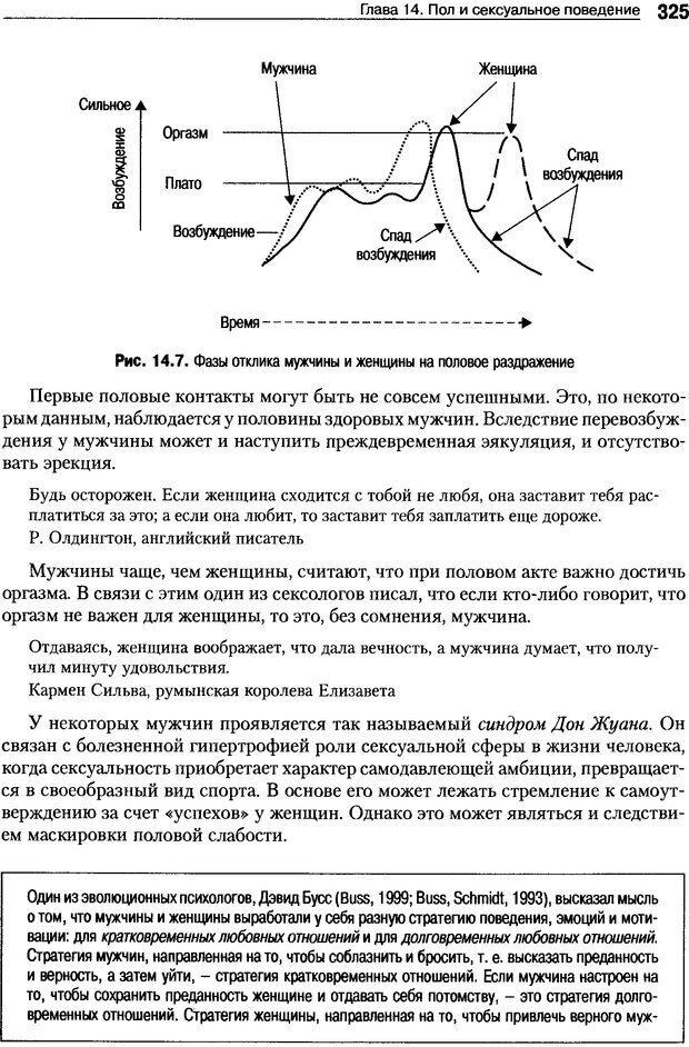 DJVU. Пол и гендер. Ильин Е. П. Страница 325. Читать онлайн