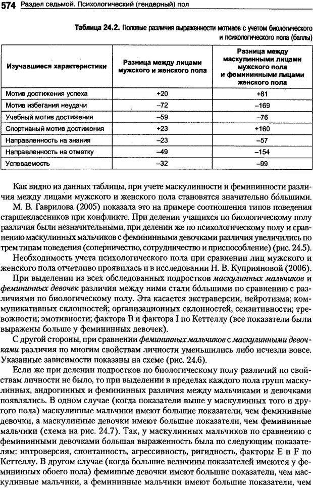 DJVU. Пол и гендер. Ильин Е. П. Страница 573. Читать онлайн