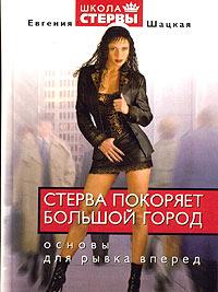 """Обложка книги """"Стерва покоряет большой город"""""""