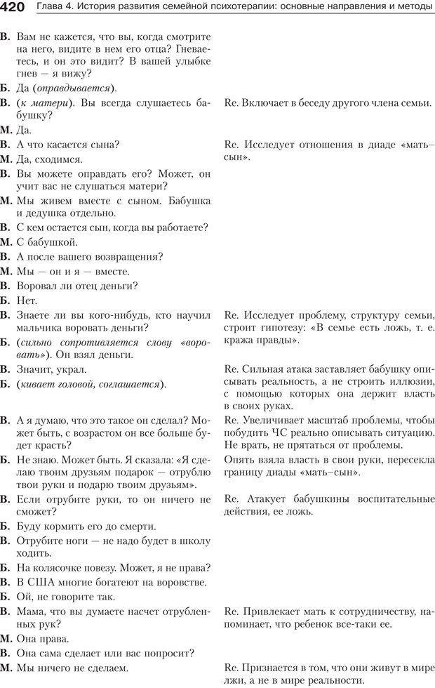 PDF. Психология и психотерапия семьи[4-е издание]. Юстицкис В. В. Страница 414. Читать онлайн