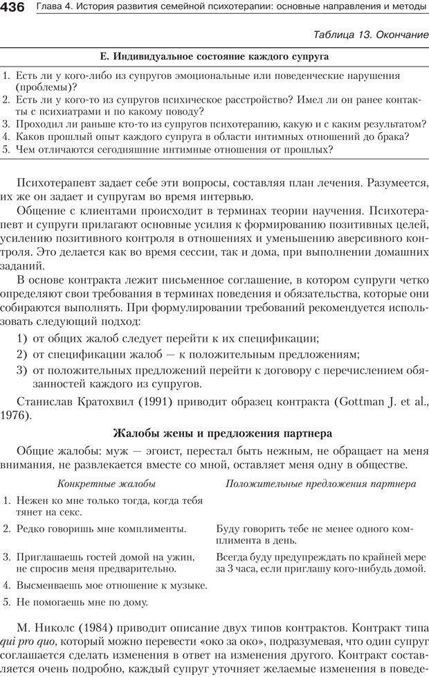 PDF. Психология и психотерапия семьи[4-е издание]. Юстицкис В. В. Страница 430. Читать онлайн