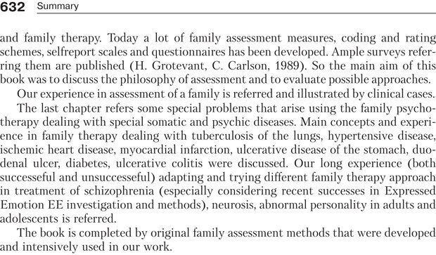 PDF. Психология и психотерапия семьи[4-е издание]. Юстицкис В. В. Страница 624. Читать онлайн