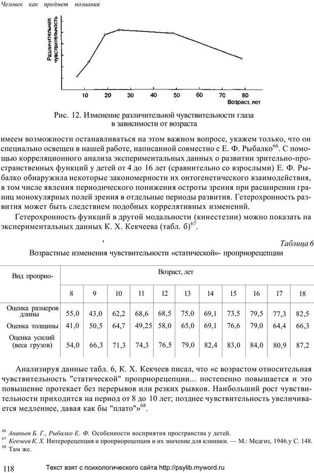 PDF. Человек как предмет познания. Ананьев Б. Г. Страница 120. Читать онлайн
