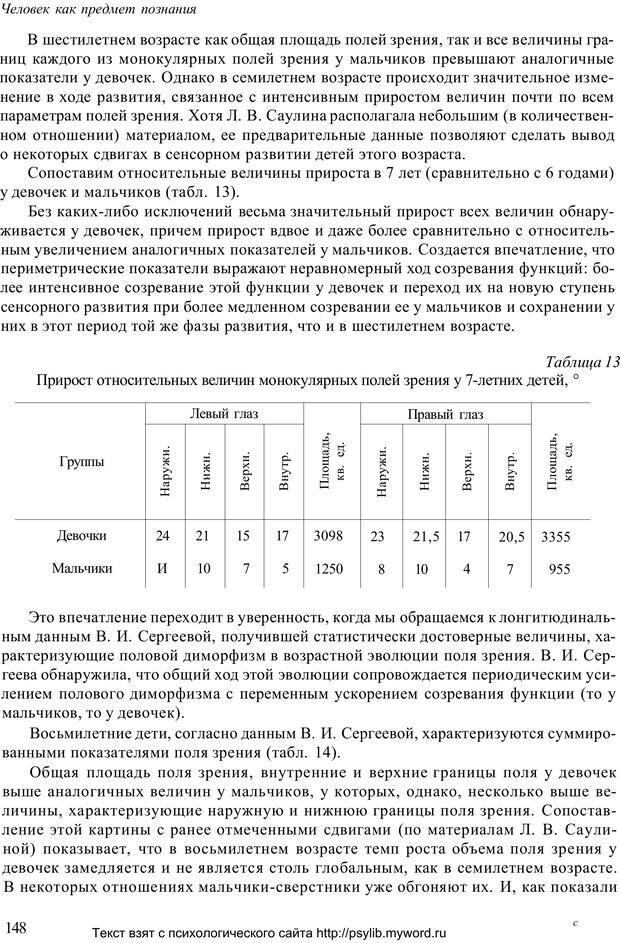 PDF. Человек как предмет познания. Ананьев Б. Г. Страница 150. Читать онлайн
