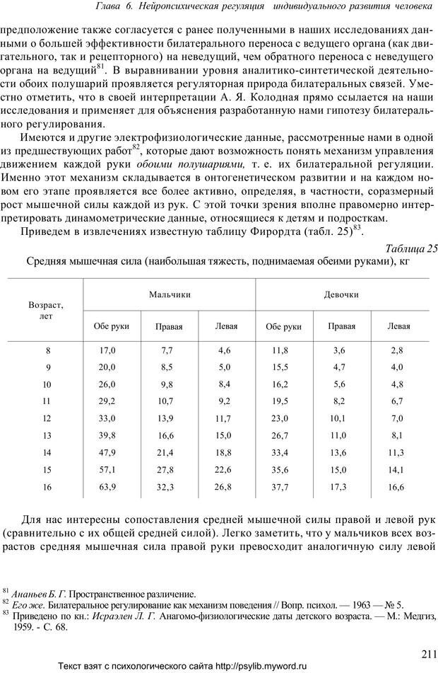 PDF. Человек как предмет познания. Ананьев Б. Г. Страница 213. Читать онлайн