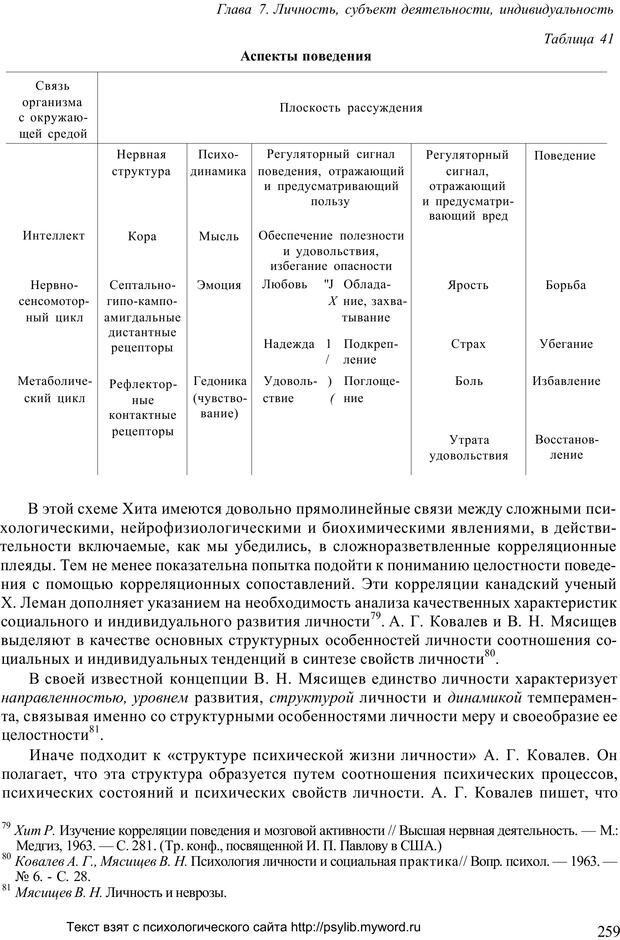 PDF. Человек как предмет познания. Ананьев Б. Г. Страница 261. Читать онлайн