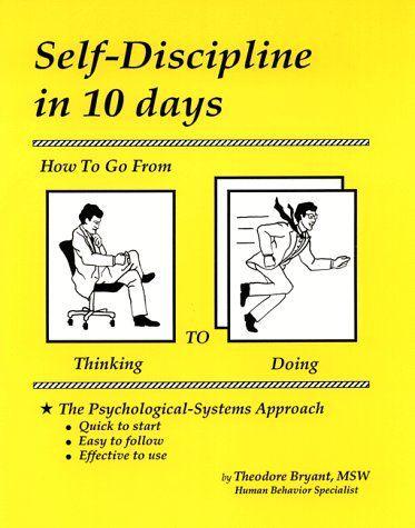 """Обложка книги """"Самодисциплина за 10 дней: как перейти от думания к деланию"""""""