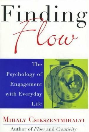 """Обложка книги """"В поисках потока. Психология включенности в повседневность"""""""