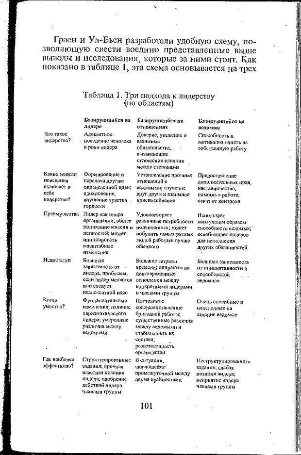 DJVU. Психология лидерства: Хрестоматия. Сельченок К. В. Страница 103. Читать онлайн