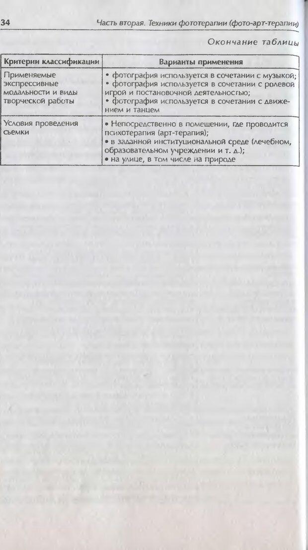 DJVU. Техники фототерапии. Копытин А. И. Страница 34. Читать онлайн