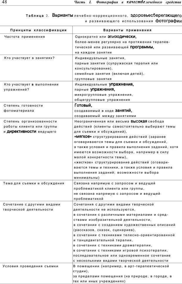 PDF. Тренинг по фототерапии. Копытин А. И. Страница 48. Читать онлайн