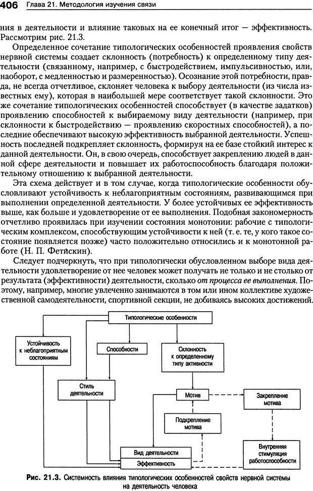 DJVU. Психология индивидуальных различий. Ильин Е. П. Страница 414. Читать онлайн