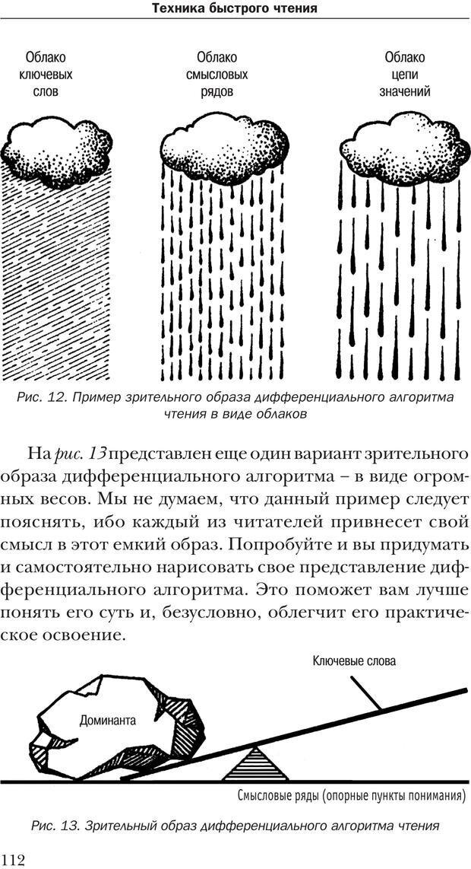 PDF. Техника быстрого чтения[самоучитель]. Андреев О. А. Страница 112. Читать онлайн