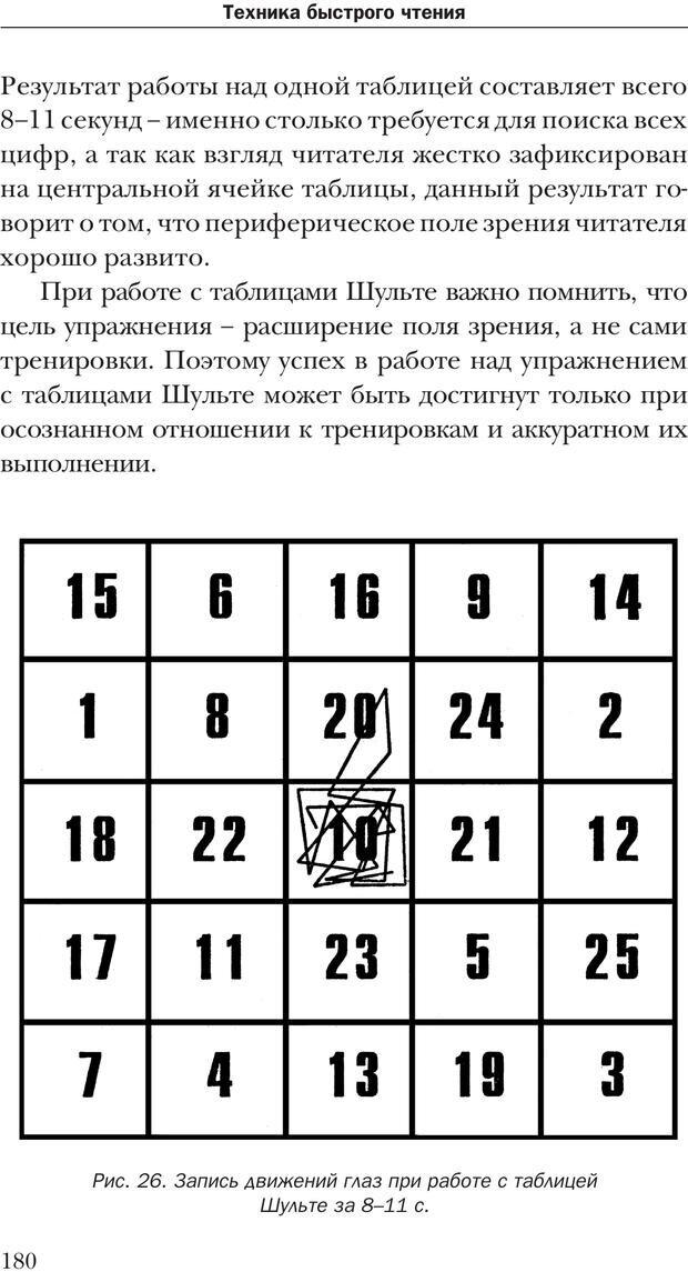 PDF. Техника быстрого чтения[самоучитель]. Андреев О. А. Страница 180. Читать онлайн