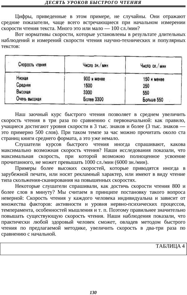 PDF. Техника быстрого чтения. Кузнецов О. А. Страница 128. Читать онлайн