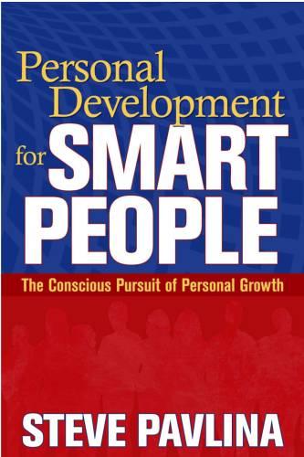 """Обложка книги """"Личное развитие для умных людей"""""""