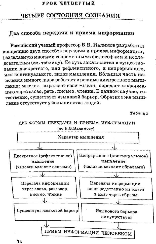PDF. Управляю своим сном. Андреев О. А. Страница 73. Читать онлайн