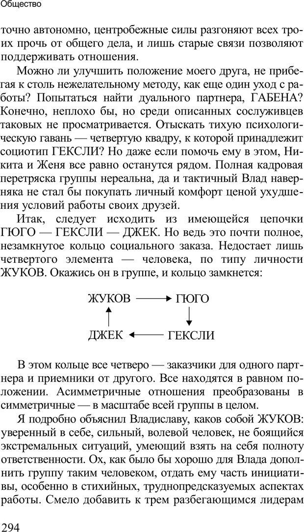 PDF. Среди людей. Соционика — наука общения. Кашницкий С. Е. Страница 289. Читать онлайн