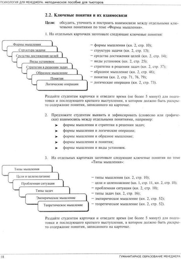PDF. Психология для менеджера. Ишков А. Д. Страница 21. Читать онлайн