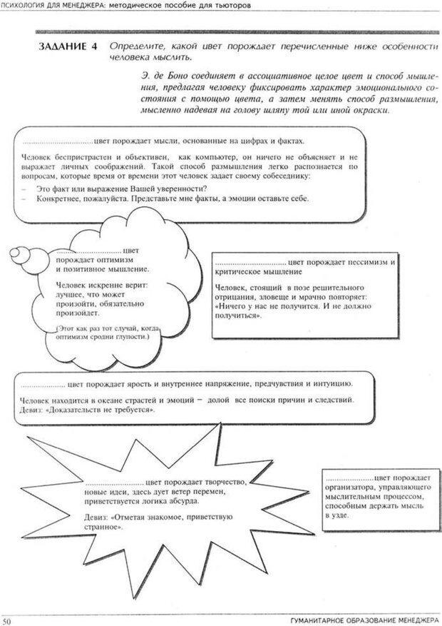 PDF. Психология для менеджера. Ишков А. Д. Страница 54. Читать онлайн
